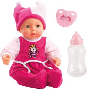 Interaktywna lalka Hello Baby Function Doll 46cm 94682AA, Bayer Design